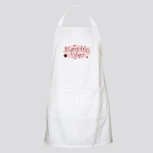 """Stamping Diva"" [red] BBQ Apron"